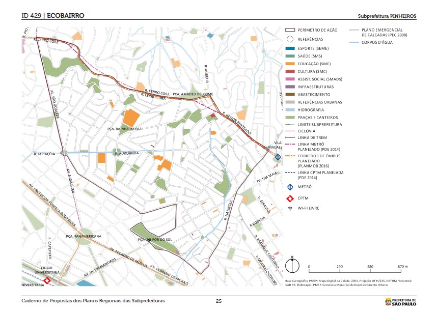 plano id 429 ecobairros subprefeitura pinheiros